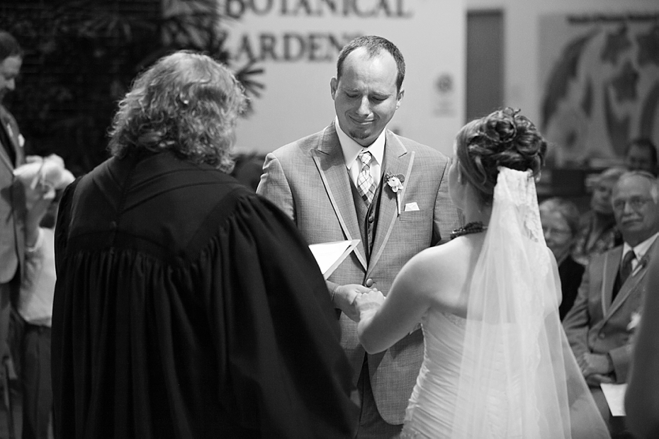 Sarah + Seth ~ Boerner Botanical Gardens Wedding ~ Milwaukee Wedding  Photography » Christy Tyler Photography