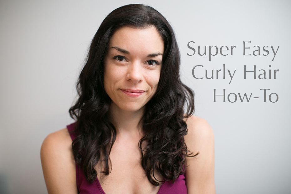 Curly Hair HowTo ~ Easy Styling for Naturally Wavy Hair » Christy