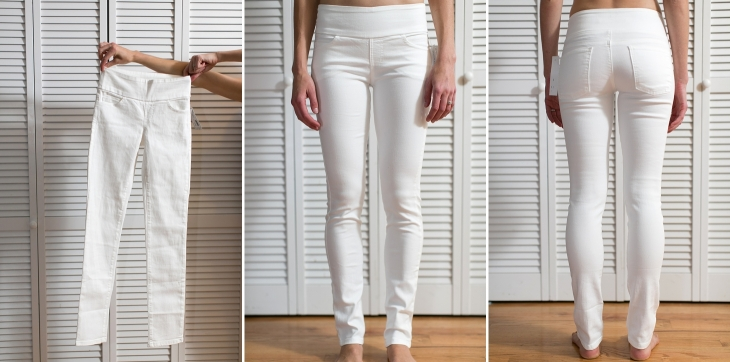 White Jeans for Wedding