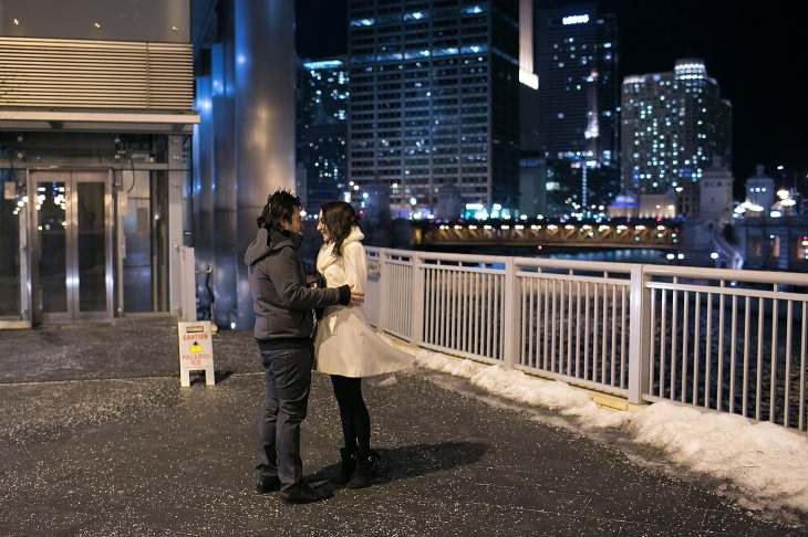 downtown chicago valentine's day proposal ~ chicago proposal, Ideas