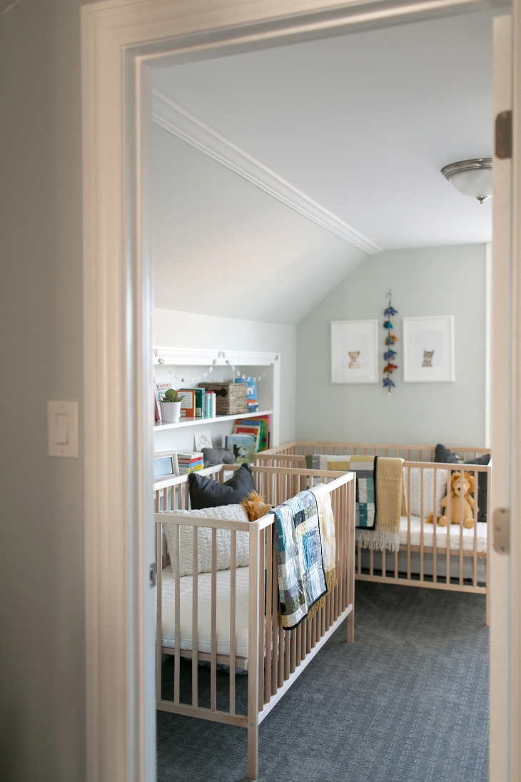 Ctp At Home Twin Boy Neutral Safari Nursery