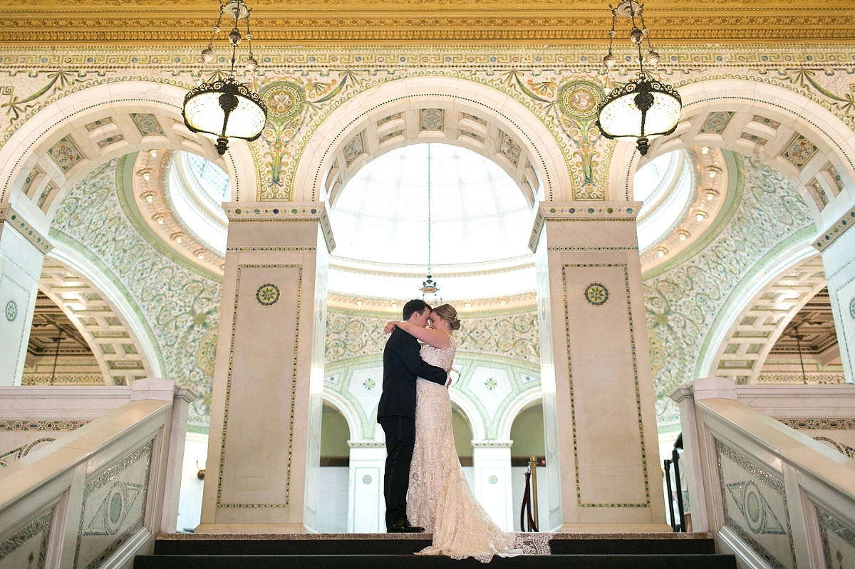 K + J ~ Chicago Cultural Center Wedding Photography » Christy Tyler ...